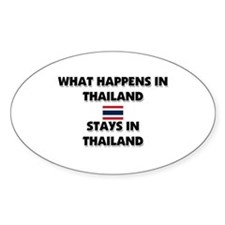 What Happens In THAILAND Stays There Decal