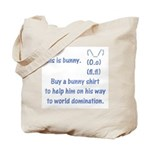 Help bunny for domination Tote Bag