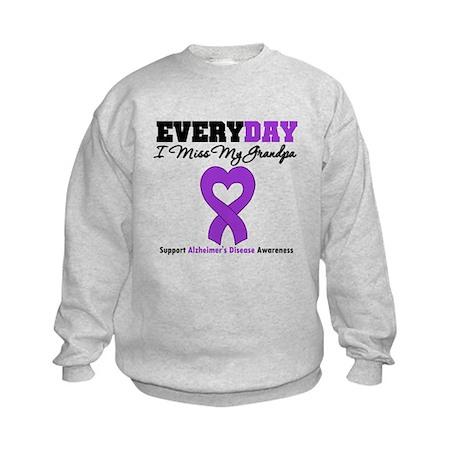 Alzheimer's MissMyGrandpa Kids Sweatshirt