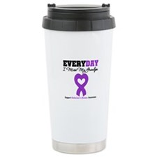 Alzheimer's MissMyGrandpa Travel Mug