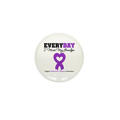 Alzheimer's MissMyGrandpa Mini Button (100 pack)