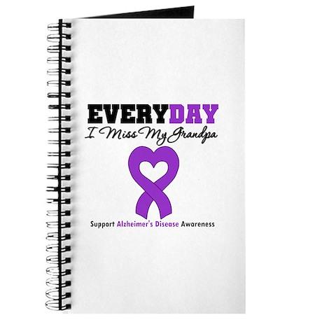 Alzheimer's MissMyGrandpa Journal