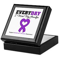 Alzheimer's MissMyGrandpa Keepsake Box