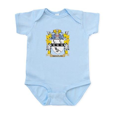 Nicholas Coat of Arms - Family Crest Body Suit