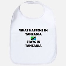 What Happens In TANZANIA Stays There Bib