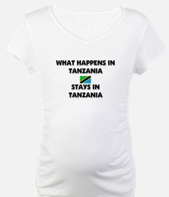 What Happens In TANZANIA Stays There Shirt