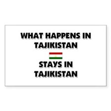 What Happens In TAJIKISTAN Stays There Decal