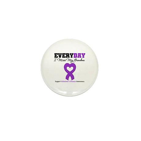 Alzheimer's MissMyGrandma Mini Button (10 pack)