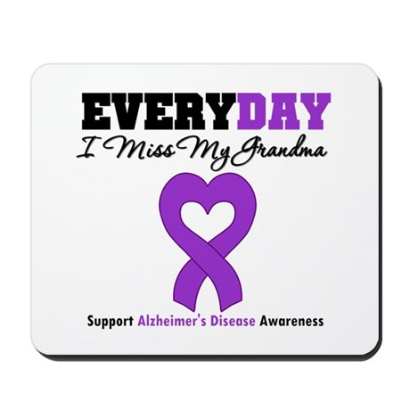 Alzheimer's MissMyGrandma Mousepad
