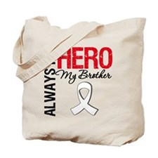 Lung Cancer Hero Brother Tote Bag