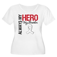 Lung Cancer Hero Brother T-Shirt