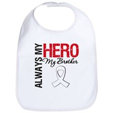 Lung Cancer Hero Brother Bib