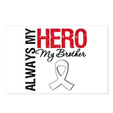 Lung Cancer Hero Brother Postcards (Package of 8)