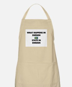 What Happens In SWEDEN Stays There BBQ Apron