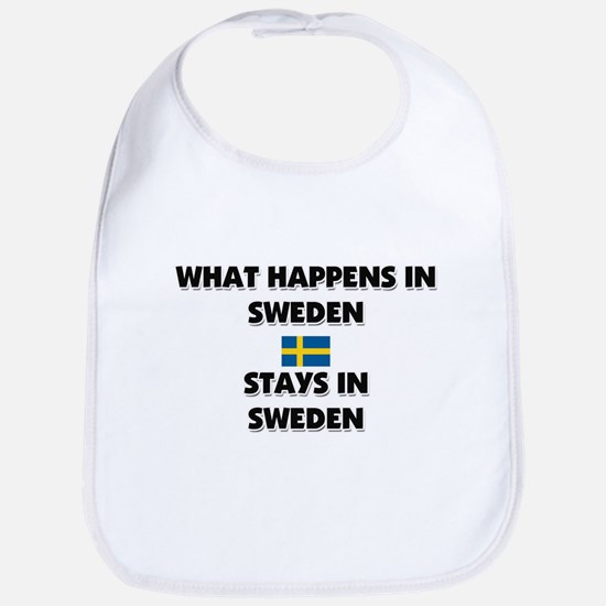 What Happens In SWEDEN Stays There Bib