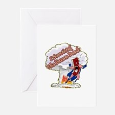 Survived Bacon Bomb Greeting Cards (Pk of 10)