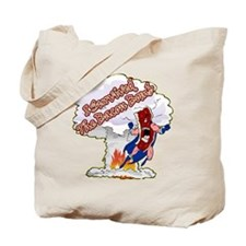 Survived Bacon Bomb Tote Bag