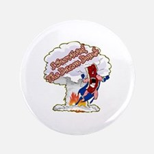 "Survived Bacon Bomb 3.5"" Button (100 pack)"