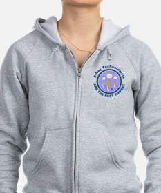 X-Ray Technologists Are The B Zip Hoodie
