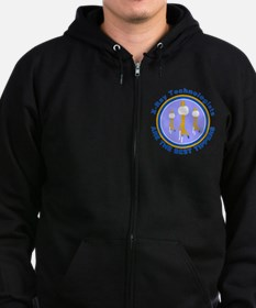 X-Ray Technologists Are The B Zip Hoodie (dark)