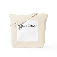 Brain Cancer Ribbon Tote Bag