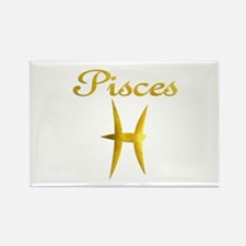 Pisces Rectangle Magnet