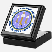 X-Ray Technologists Are The B Keepsake Box