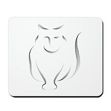 The Cat Mousepad
