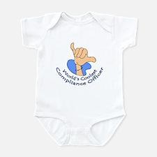 World's Coolest Compliance Officer Infant Bodysuit