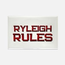 ryleigh rules Rectangle Magnet