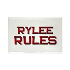 rylee rules Rectangle Magnet