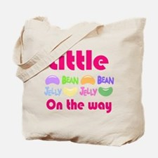 Little Jelly Bean on the way Tote Bag