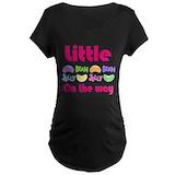 Jelly bean Maternity T-shirts (Dark)