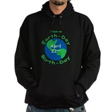 Earth Day Birthday Hoodie