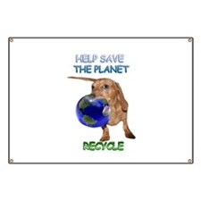 Planet Recycle Banner