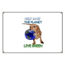 Green Doxie Banner