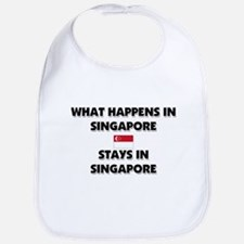 What Happens In SINGAPORE Stays There Bib