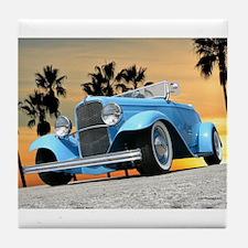 1932 Ford Roadster Tile Coaster