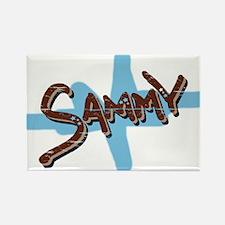 Sammy's Rectangle Magnet