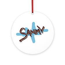 Sammy's Ornament (Round)