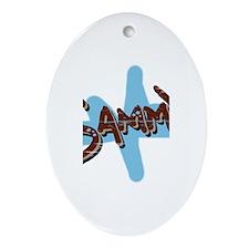 Sammy's Oval Ornament