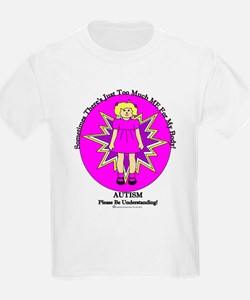 Just Too Much ME Blond Girl Pink T-Shirt
