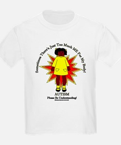 Just Too Much ME African American Girl Yellow T-Sh