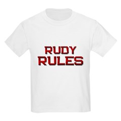 rudy rules T-Shirt