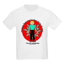 Just Too Much ME Blond Boy Red T-Shirt