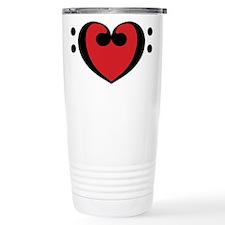 Music Heart Travel Mug