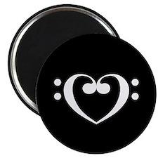 Music Heart Magnet