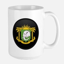 Coat of Arms of Cote Divoire Large Mug