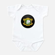 Coat of Arms of Cote Divoire Infant Bodysuit