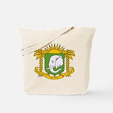 Cote Divoire Coat of Arms Tote Bag